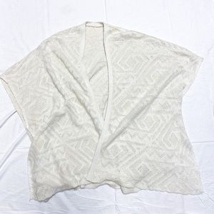 Mossimo Oversized Open Front Knit  Sweater, Size M